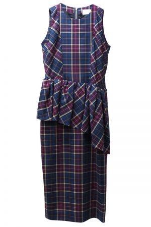 MEKKI Plaidドレス【21SS】
