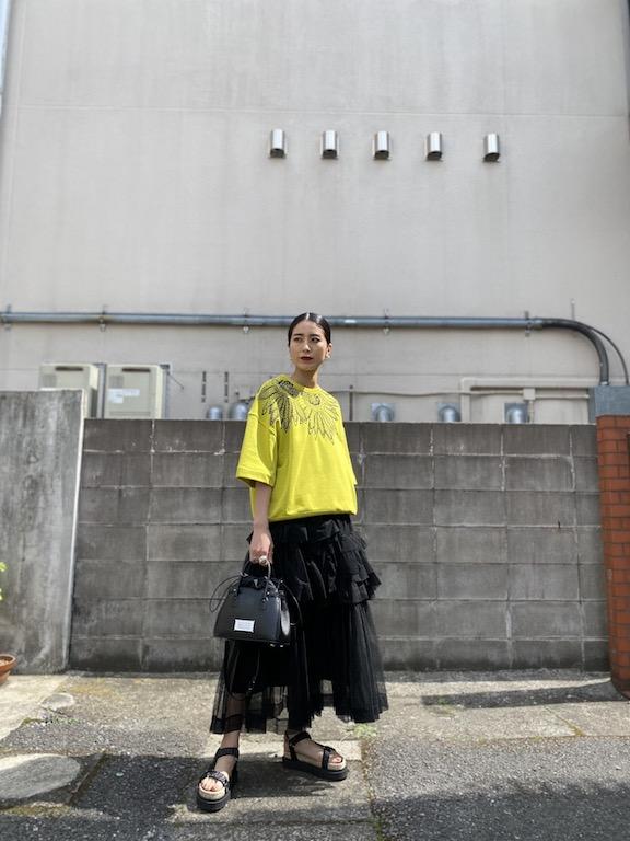 Chika Kisada チュールスカート【21SS】