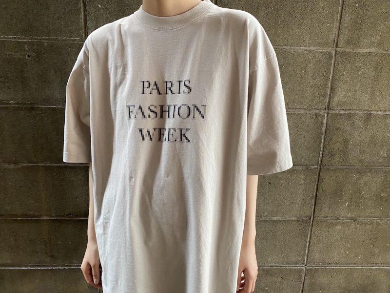 BALENCIAGA ロゴTシャツ【21SS】