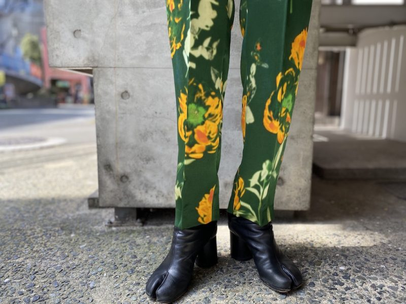 DRIES VAN NOTEN PALMIRAパンツ【21SS】