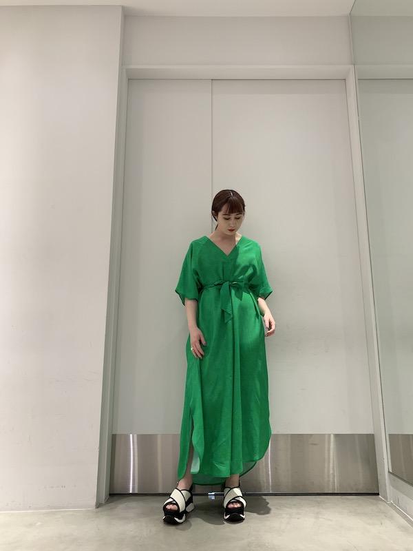 Christian Wijnants 花柄Vネックワンピース【21SS】