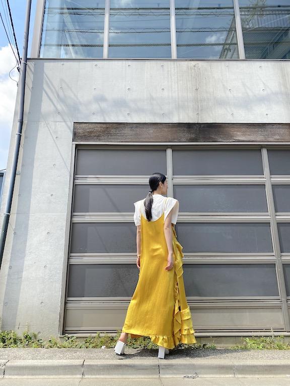 MEKKI Heavy satinドレス【21SS】