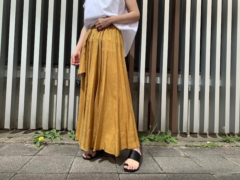 forte forte ロングスカート【21SS】