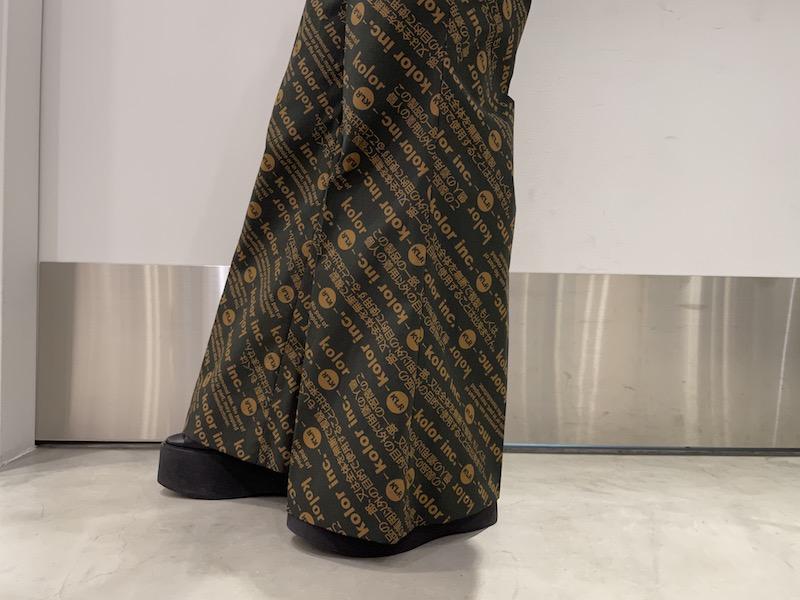 08 SIRCUS Flower ripple Iawnドレス【21SS】