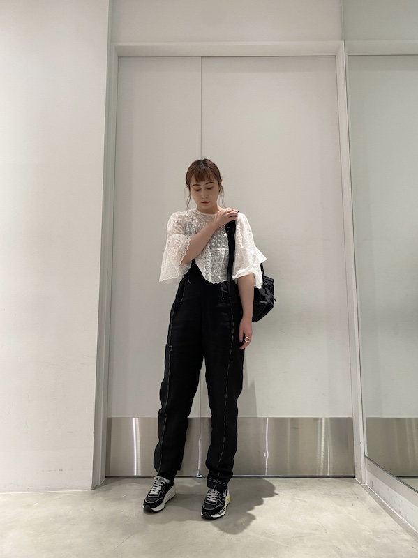 MAISON MARGIELA ステッチ入りテーパードパンツ【21SS】
