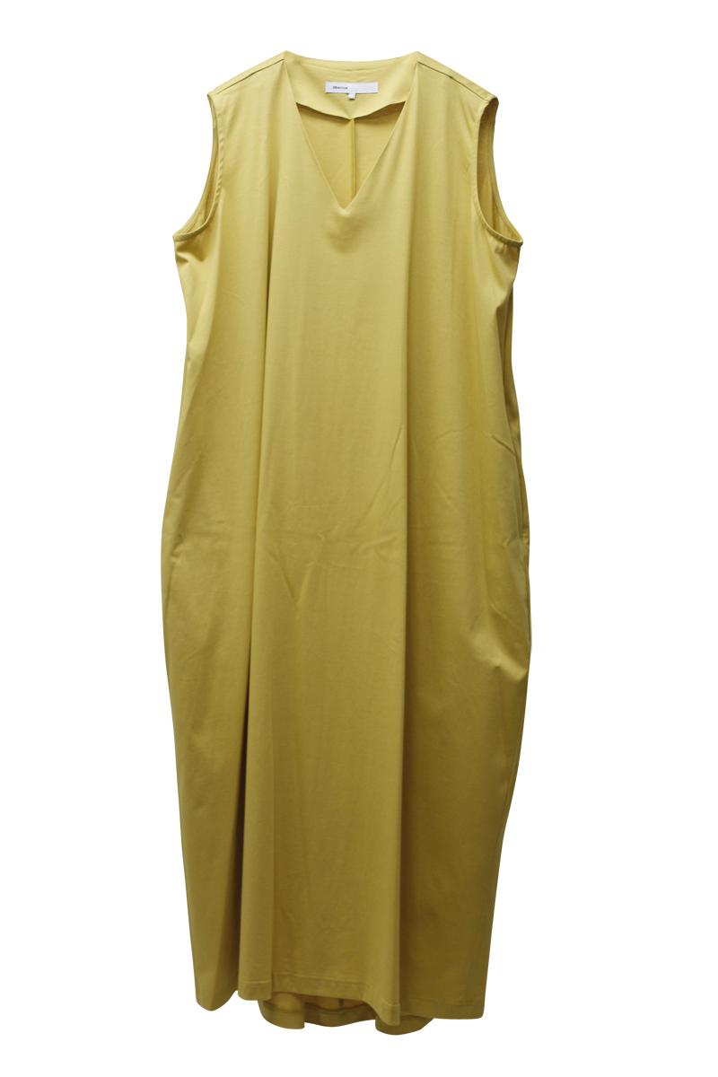 08 SIRCUS ノースリーブVネックドレス【21SS】