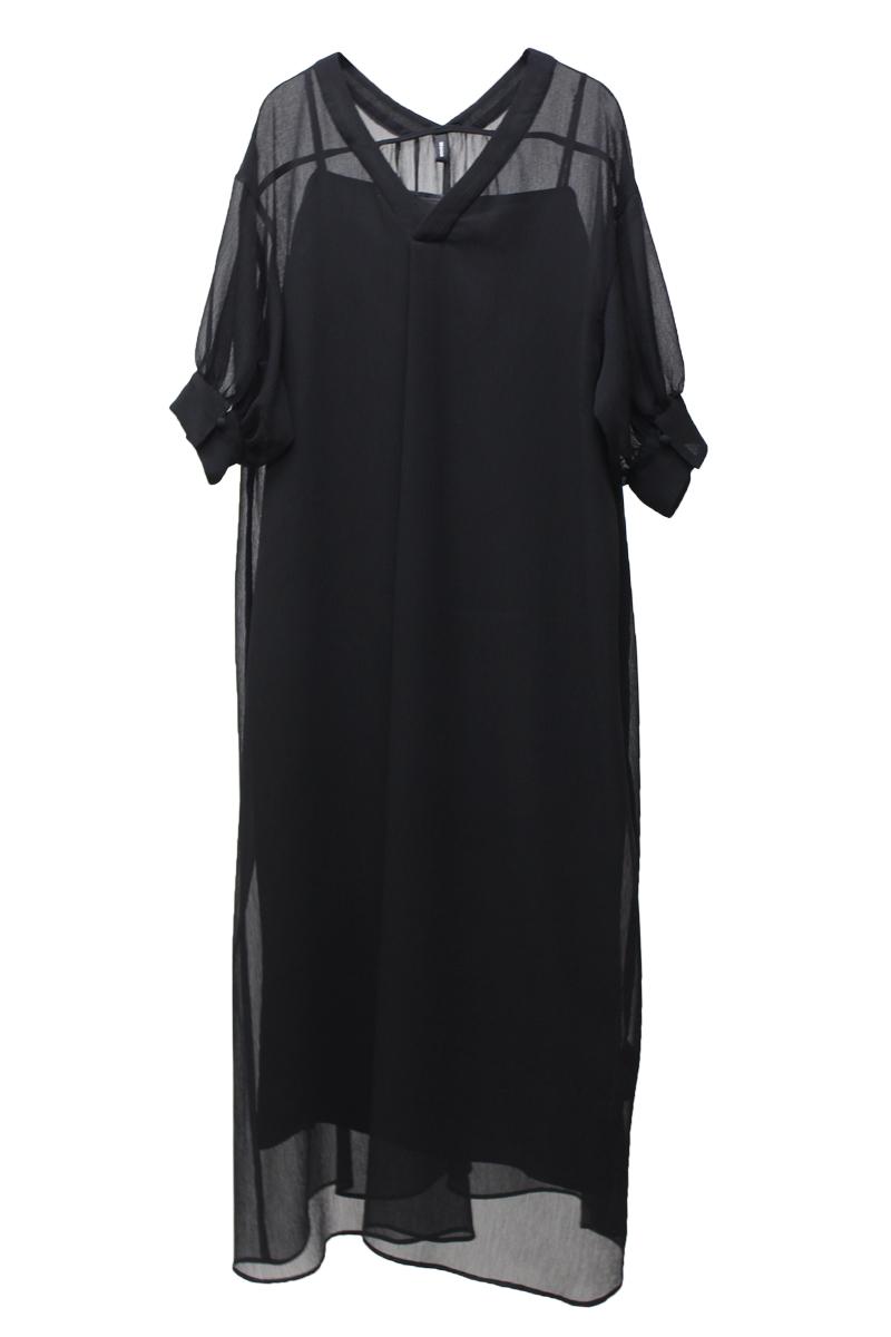 08 SIRCUS Vネックドレス