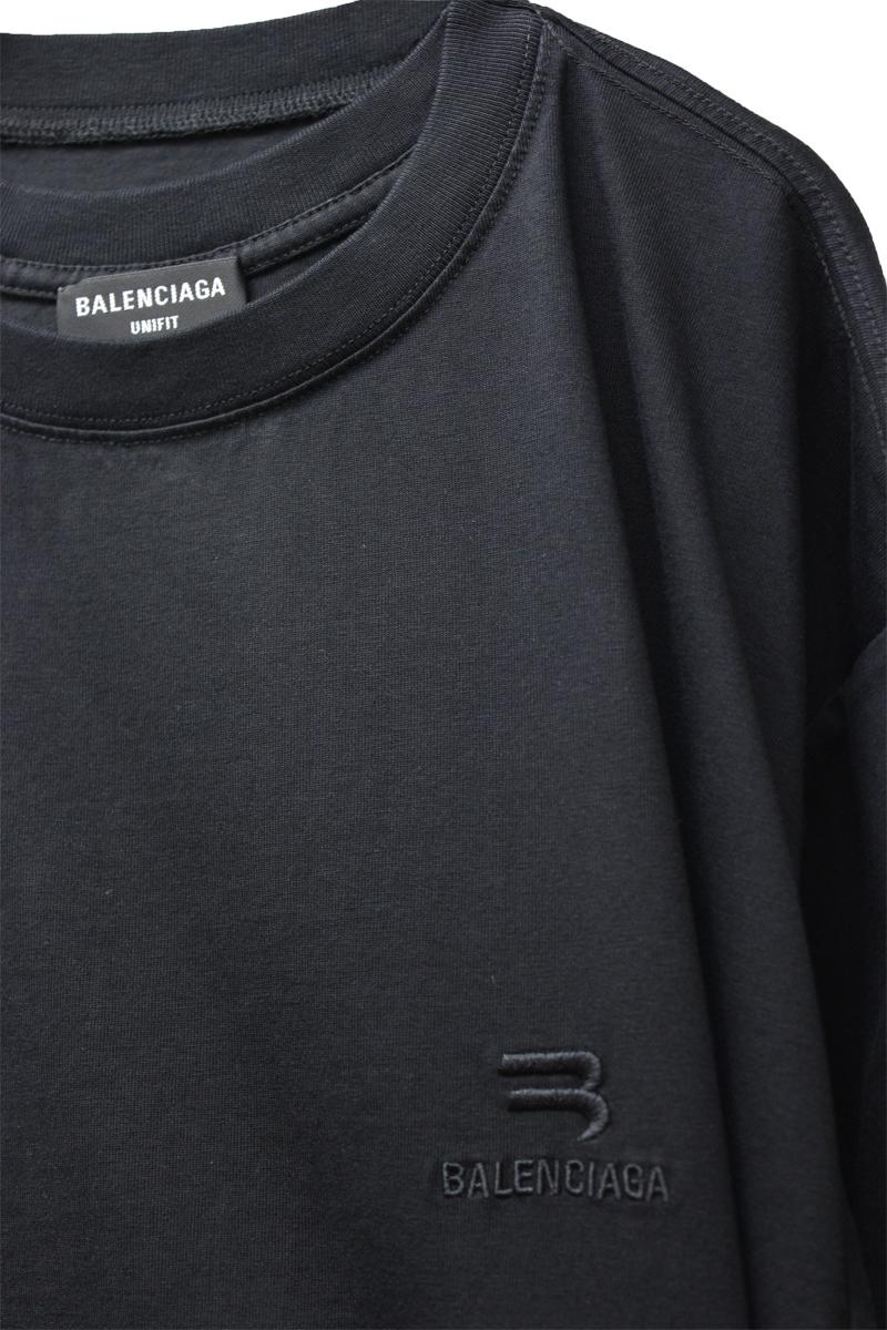 BALENCIAGA ロゴ刺繍ラージTシャツ【21SS】