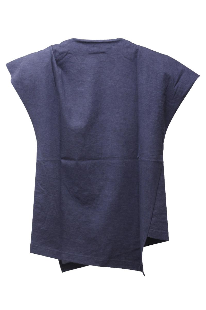 ISABEL MARANT 肩パット付アシンメトリーTシャツ【21SS】
