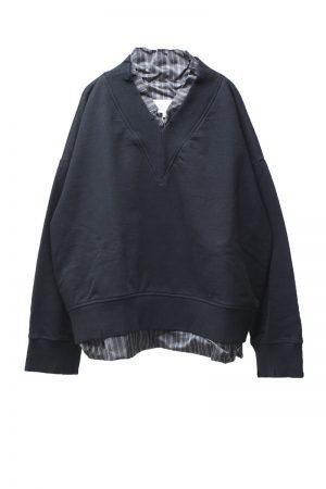 MAISON MARGIELA Vネックスウェットシャツ【21SS】