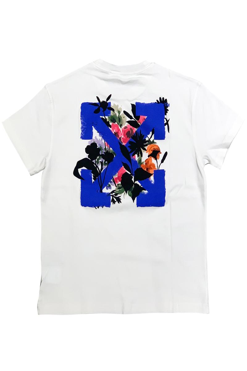 OFF-WHITE FLOWERS ARROWS Tシャツ【21SS】