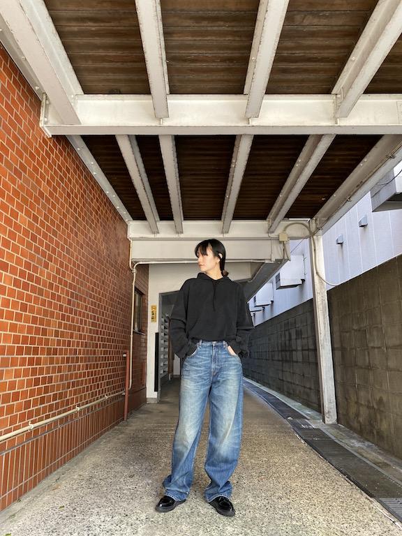 BALENCIAGA フーデッドロングTシャツ【21SS】