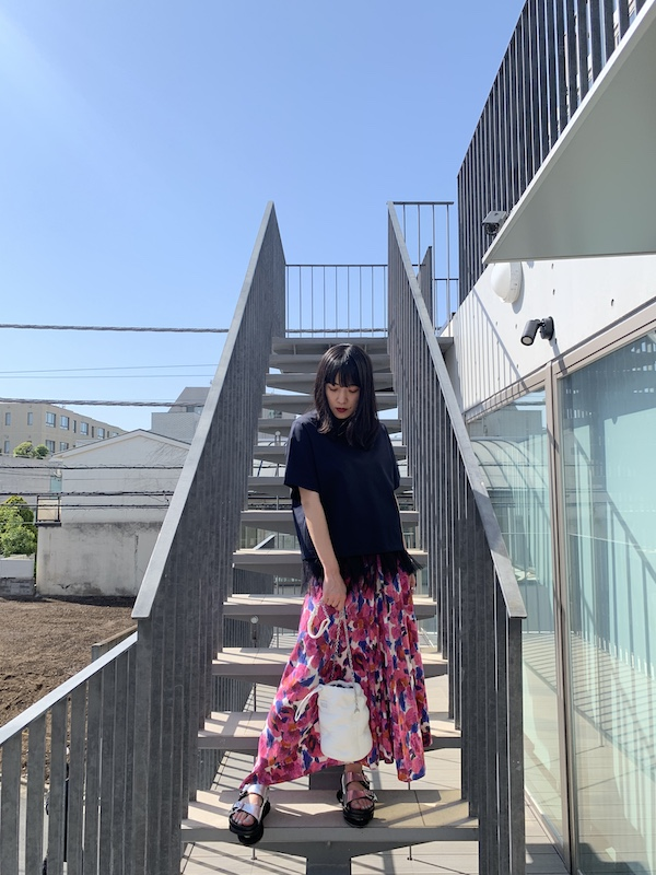 ISABEL MARANT フラワープリントスカート 【21SS】