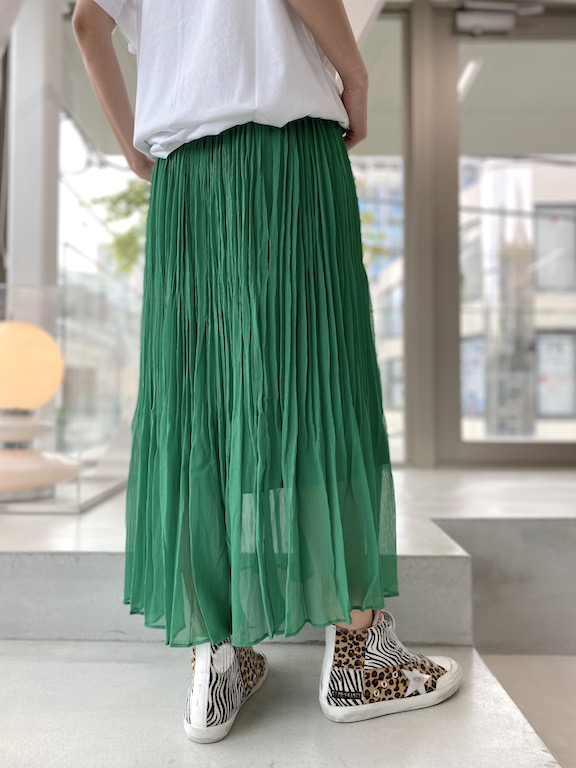 08 SIRCUS プリーツスカート