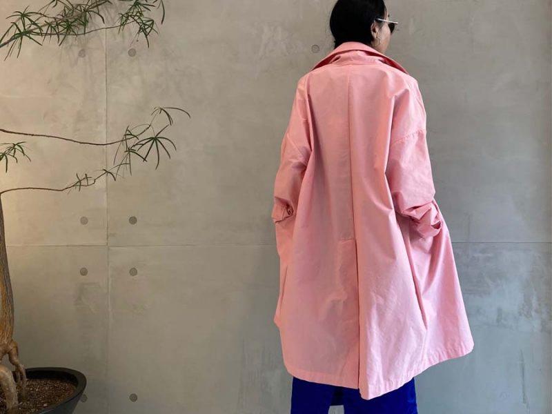 PLAN C ビッグカラーコート【21SS】