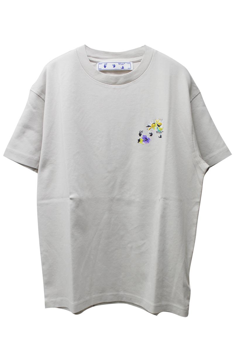 OFF-WHITE CHECK ARROWS Tシャツ【21SS】