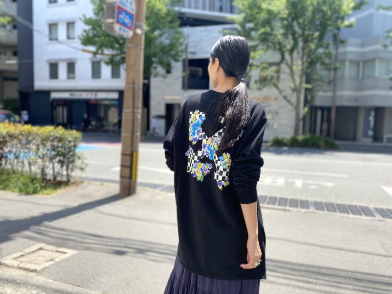 OFF-WHITE 【40%OFF】CHECK ARROWSスウェットドレス