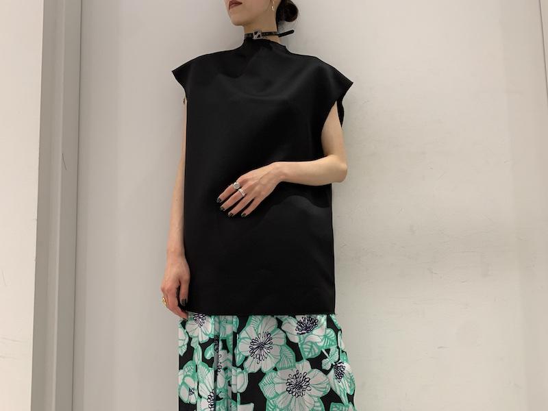 WE11DONE スリーブレスオーバーサイズドレス【21SS】