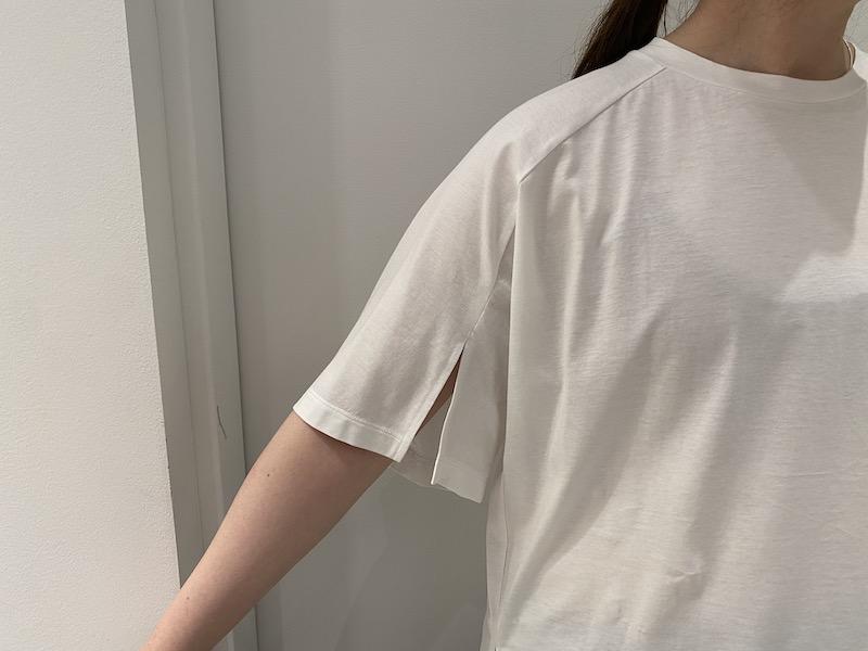 08 SIRCUS スリットスリーブTシャツ