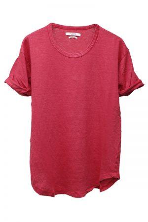 ISABEL MARANT ETOILE 【30%OFF 】リネンロールアップTシャツ