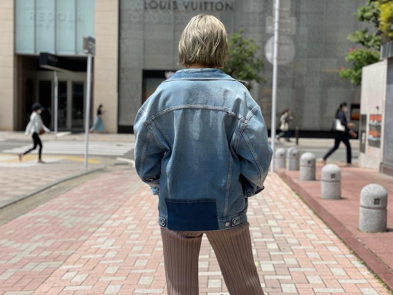 Acne Studios 【30%OFF】ダメージデニムジャケット