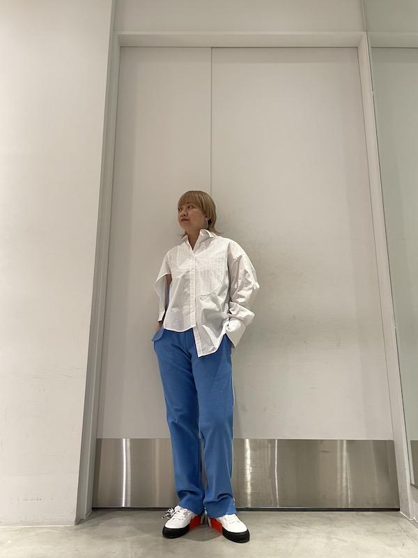 kolor アシンメトリーシャツ