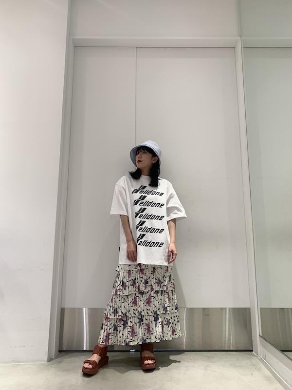 ISABEL MARANT ETOILE 花柄ティアードスカート