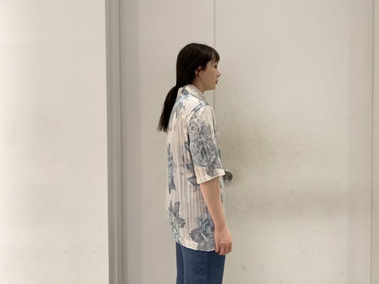 Acne Studios 【40%OFF】花柄半袖ブラウス