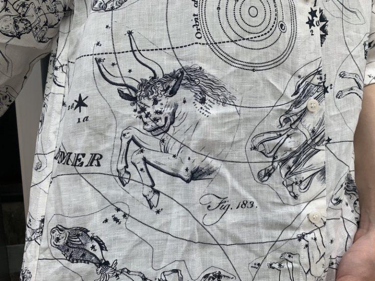 Acne Studios 【40%OFF】半袖プリントシャツ