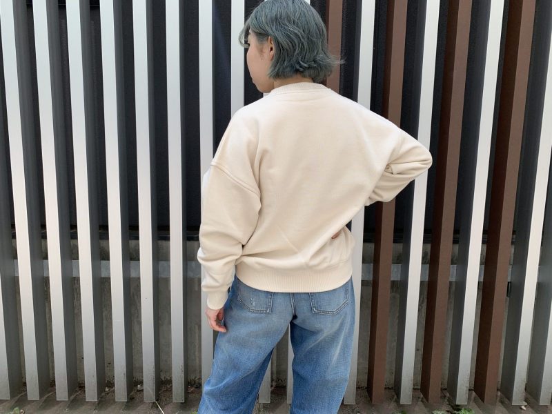 Acne Studios 【40%OFF】刺繍スウェットトップス