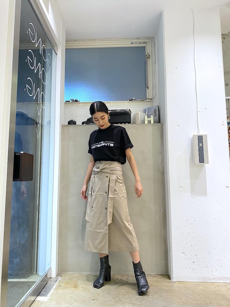 rokh ツイストラップスカート