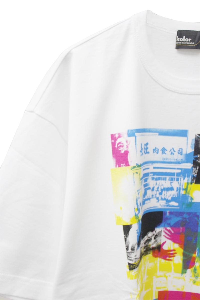 kolor ジャンバルジャンTシャツ 【21AW】