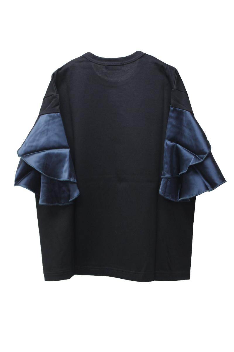 kolor 袖切替プリントTシャツ【21AW】