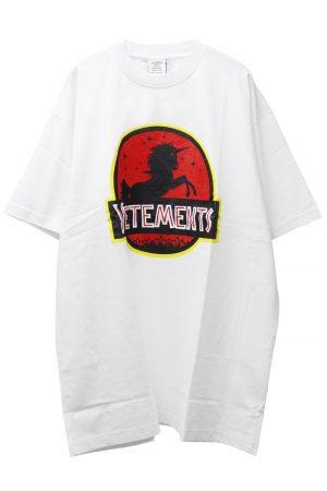 VETEMENTS WILD UNICORN Tシャツ【21AW】