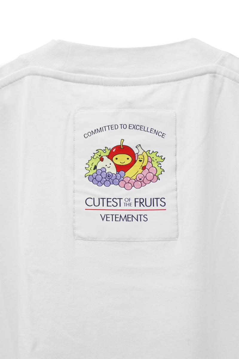 VETEMENTS FRUITS LOGO Tシャツ【21AW】