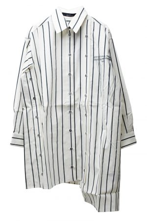 rokh ストライプシャツ【21AW】