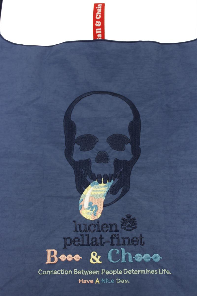 lucien pellat-finet スカルショッピングバッグ