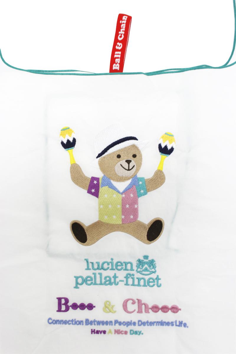 lucien pellat-finet ベアショッピングバッグ