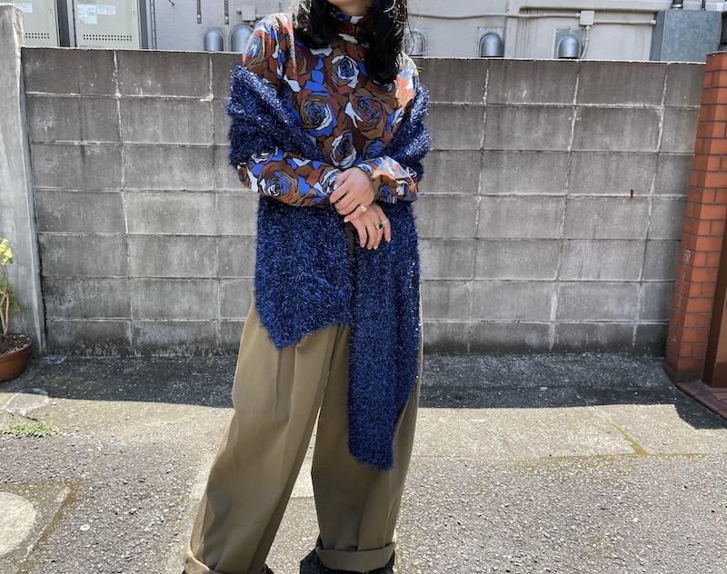 DRIES VAN NOTEN TIMOTHEAスカーフ【21AW】