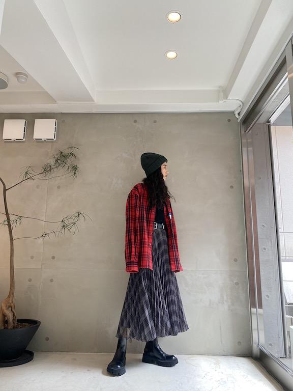 rokh プリーツスカート【21AW】