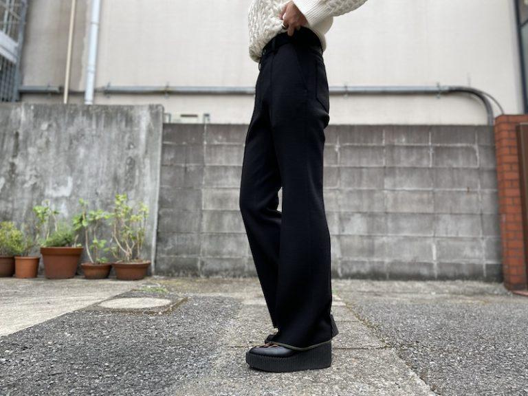 kolor センタープリーツパンツ【21AW】