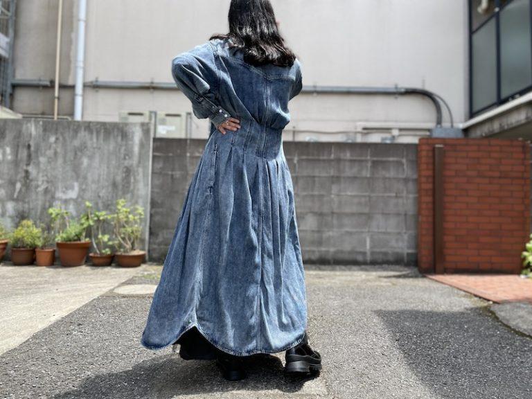 ISABEL MARANT ETOILE デニムロングワンピース【21AW】