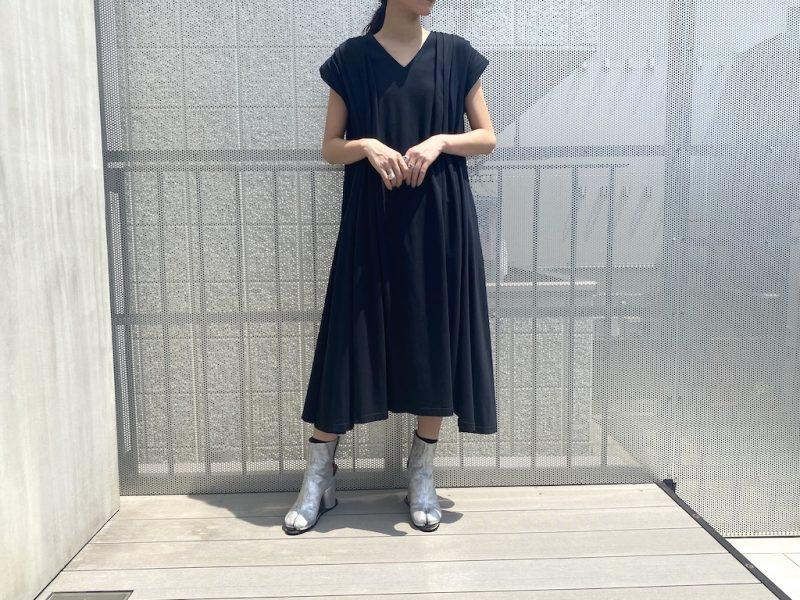 REKISAMI ショルダータックワンピース【21AW】