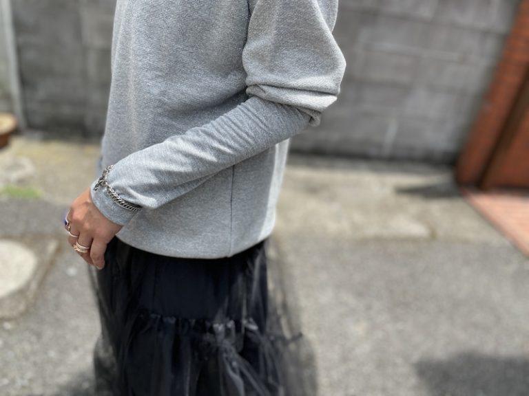 MEKKI ラメスウェットトップス【21AW】