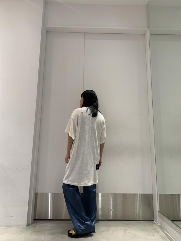 WE11DONE ガールロングTシャツ