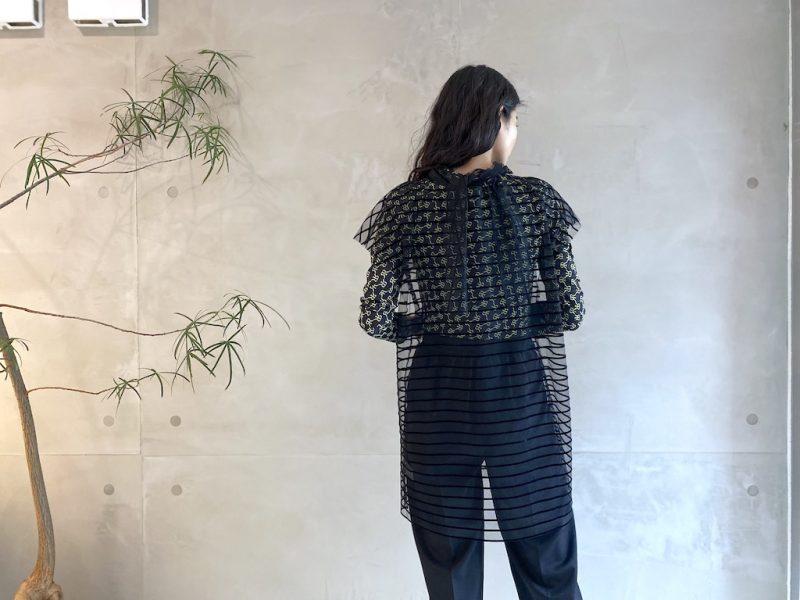 DRIES VAN NOTEN CROPシャツ【21AW】