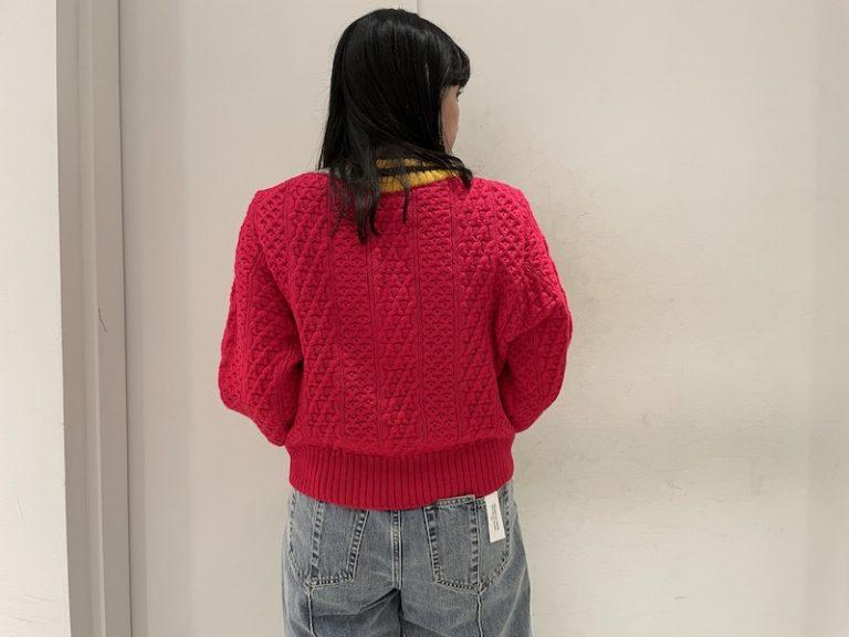 kolor ケーブルニット 【21AW】