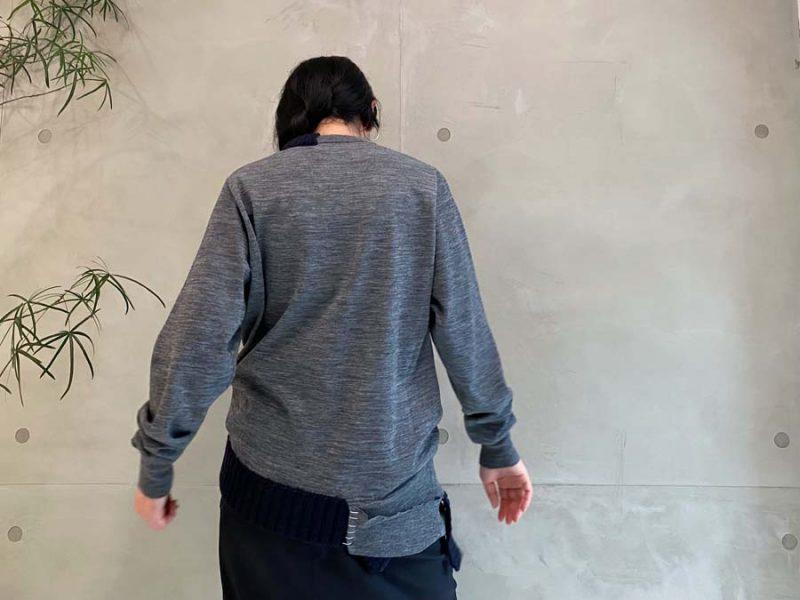 kolor クルーネックニット 【21AW】