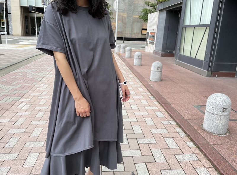 REKISAMI レイヤードワンピース【21AW】