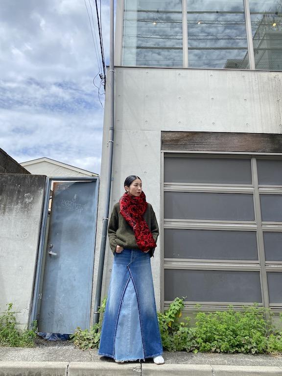 DRIES VAN NOTEN GUSTAVEスカーフ【21AW】